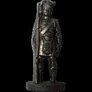 Vintage German Soft Metal Figurine ,marked