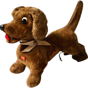 Darling Vintage Googly Eye Dachshund