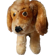 Unmarked Vintage Mohair, Googly Eye Spaniel