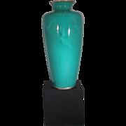 Cloisonne School Japanese Enameled Vase
