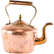 Copper Tea Kettle - 19th Century