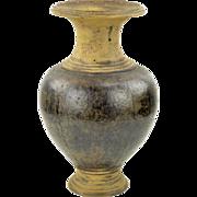 Antique Khmer Pedestal Vase - Classic Form
