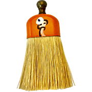 Doll size clothes brush