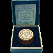 SOLD Halcyon Days Enamel Box - A Token of Esteem