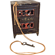 J & E Stevens cast iron safe still bank