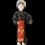SALE Vintage Japanese peasant ichimatsu doll