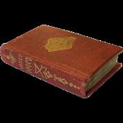 "Doll size miniature book ""Honey Drops"""