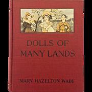 Dolls of Many Lands by Mary Hazleton Wade
