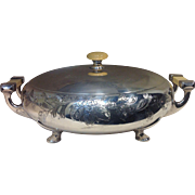 Vintage MERIDEN B Co. , International Co. , Hamilton Canada, Silver plate , Celluloid Handles,