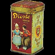 Vintage 2 Oz. Droste's Cocoa Tin