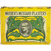 Mother's Mustard Plasters Tin