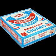 Ronald Reagan Swell Bubble Gum Cigars (Box)