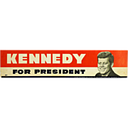 Kennedy Bumper Sticker