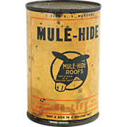 Mule-Hide Roofs Unopened Can of Nu-Life Liquid Asphalt Roof Coating