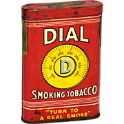 Dial Smoking Tobacco Tin