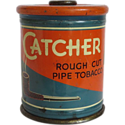 Catcher Rough Cut Pipe Tobacco Tin