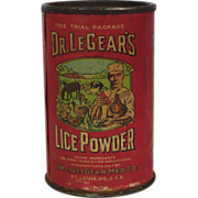 Trial Package Of Dr.LeGear's Lice Powder