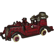 Hubley Cast Iron Fire Engine