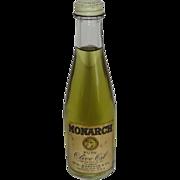 Monarch Pure Olive Oil. 4 oz Bottle