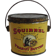 Squirrel Brand Peanut Butter Pail