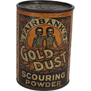 Gold Dust Free Sample Container