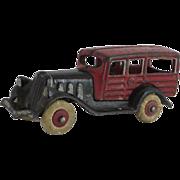 "Hubley ""Woody"" Station Wagon"
