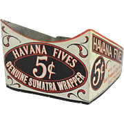 Havana Fives Tin Store Display