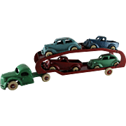 Arcade Car Transport With Four Vehicles