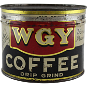 WGY Litho Coffee Tin