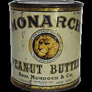 Monarch Peanut Butter Tin