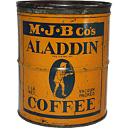 Vintage Aladdin Coffee Tin