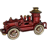 A.C. Williams Cast Iron Pumper Fire Engine