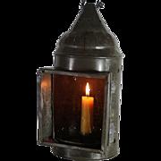 Vintage Primitive American Candle Lantern