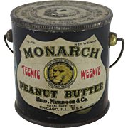 "Monarch ""Teenie Weenie"" Peanut Butter Pail"