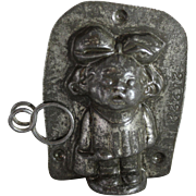 "Anton Reiche ""Little Jane with Watering Can"" Chocolate Mold"