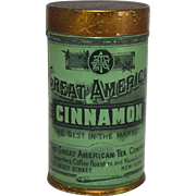 Great American Tea Company Cinnamon Spice Tin