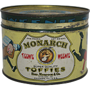 "Monarch ""Teenie Weenie"" Toffies Tin"