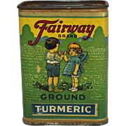 "Vintage ""Fairway Brand"" Spice Container"