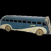 Arcade Cast Iron Greyhound Bus