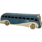 Arcade Cast Iron Greyhound Bus