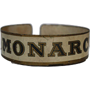 "Vintage ""Monarch"" Can Display Holder"