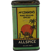 "Vintage ""McConnon's"" Spice Container"