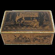 Vintage Pickwick Inn Candy Shop Tin