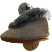 Pristine Childs Blue Suede slippers