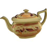 Lustre ware English Tea pot