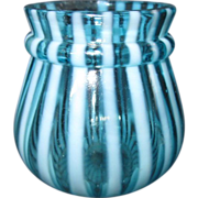 SOLD EAPG Northwood 1890 Opalescent Blue/White toothpick holder
