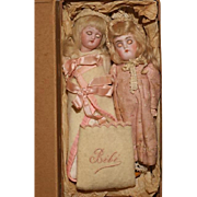 """6.5""""  One Owner Cabinet Dolls in Heirloom Box….K*R Closed Mouth 192 & A ..."""