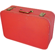 Red Lady Baltimore Suitcase