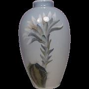 Signed Royal Copenhagen Floral Cabinet Vase #2672
