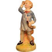 Royal Doulton Porcelain Figurine Little Boy Blue HN 2062 Copyright 1949